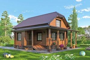 Уютный дом.